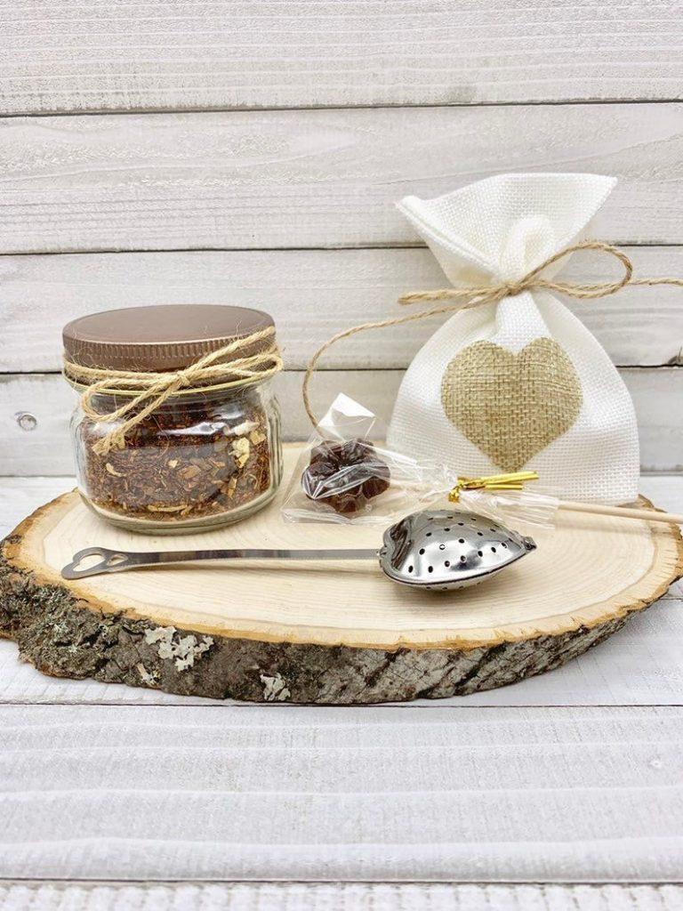 Mason Jar Favor Tea Favor Tea Wedding Favor Tea Party image 0