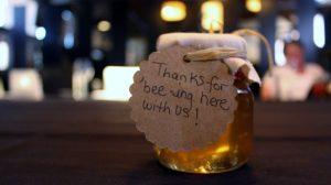 Mason jar for wedding favors