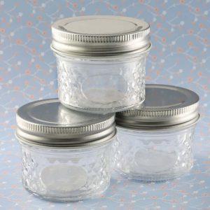 Empty mason jars