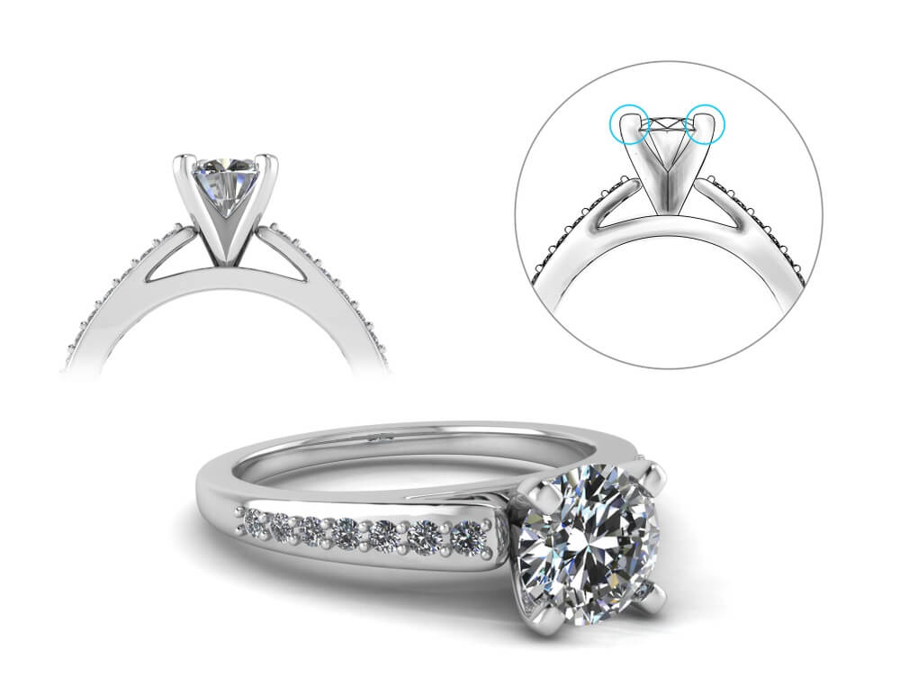 prong setting engagement ring guide