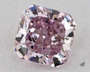 Purple diamond closeup