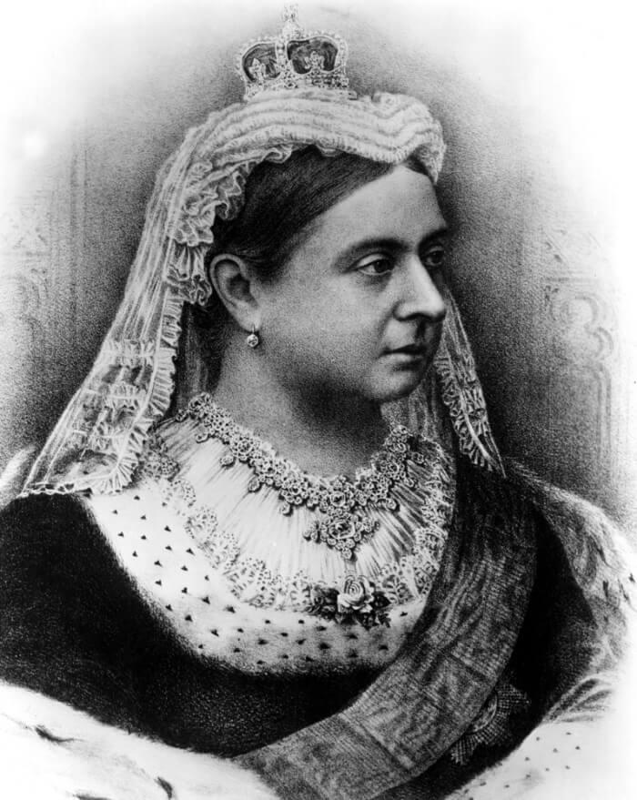 Queen Victoria portrait