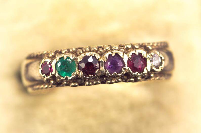 regard antique Victorian ring