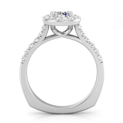 Ring with Flat Shank