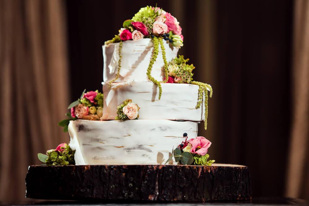 Unique layered cake