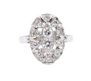 unique 1940 engagement ring design