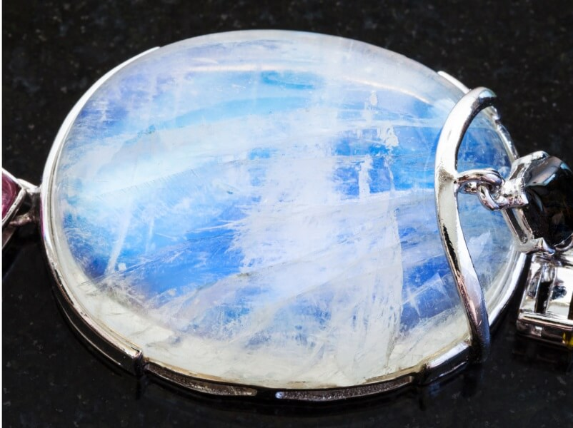 Moonstone closeup