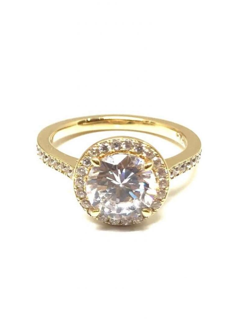 zircon engagement ring
