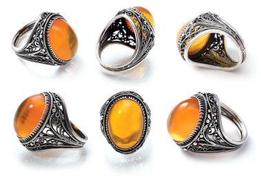 360 view amber ring