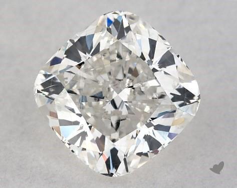 Loose cushion cut diamond