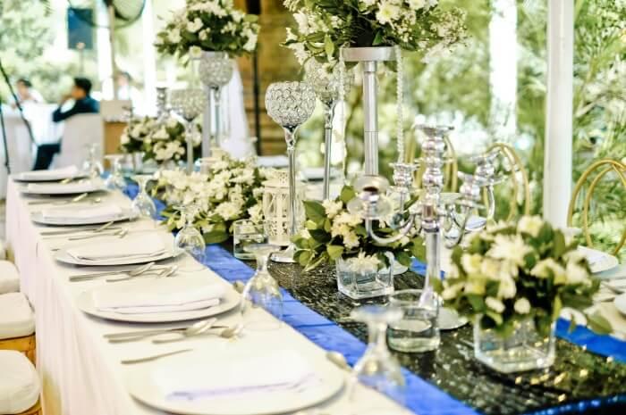 lunch wedding reception