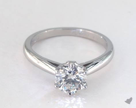 Round shape si2 diamond ring