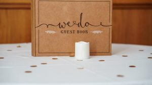 Wedding guest book guide