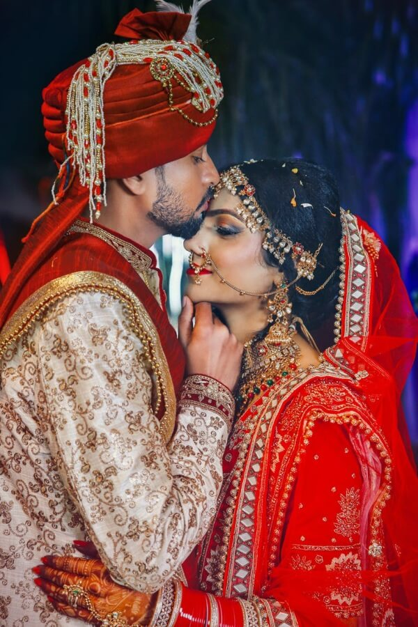 Bridal attire India