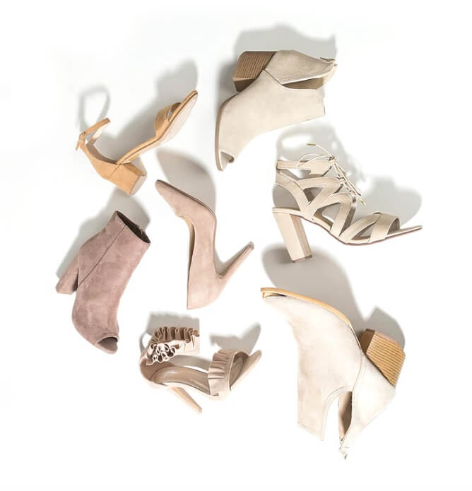 heeled shoes collection