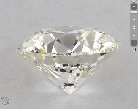 I color diamond side view