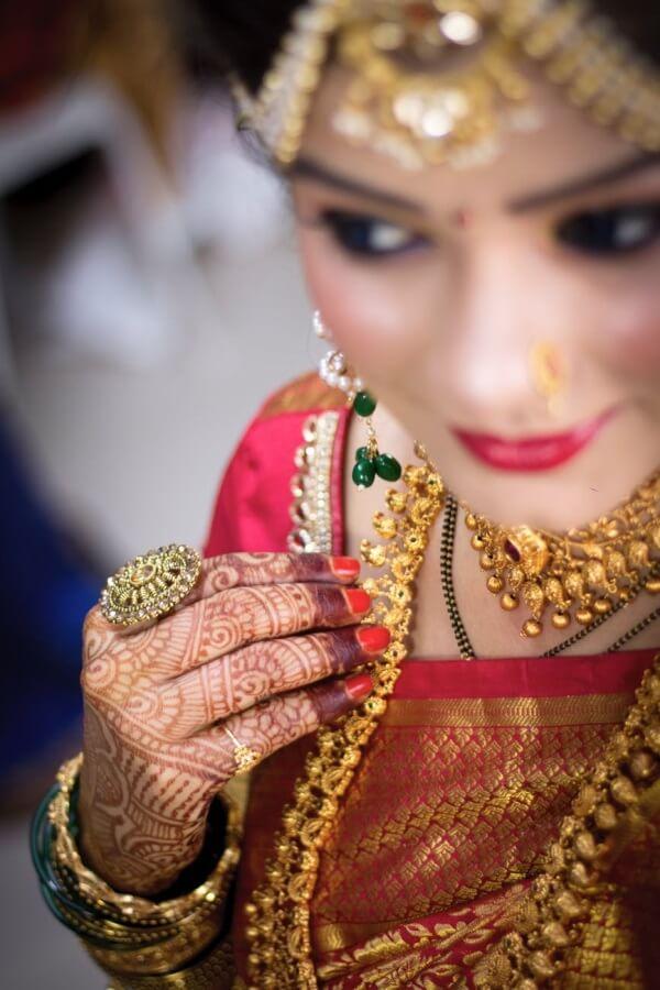 Mangalsutra Indian bride