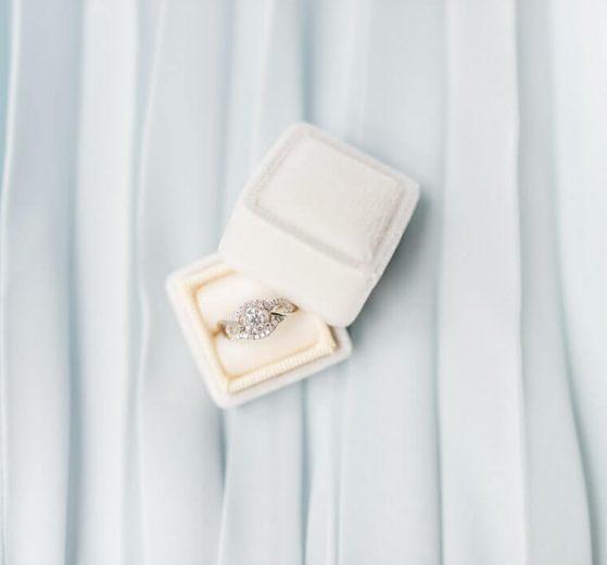 White Sapphire vs. Diamond Engagement Rings