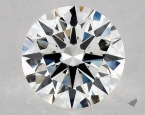 James Allen True Heart round shape diamond