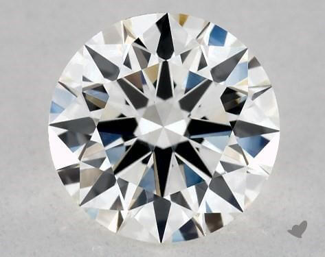 James Allen True Heart round shape diamond