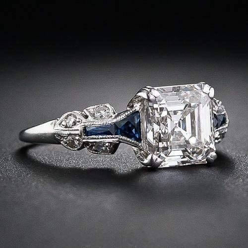 White Topaz Ring by Maihao