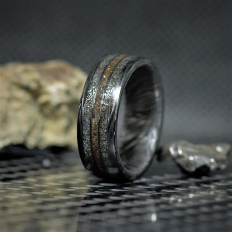 Dinosaur meteorite ring