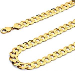 Gold Curb Chain