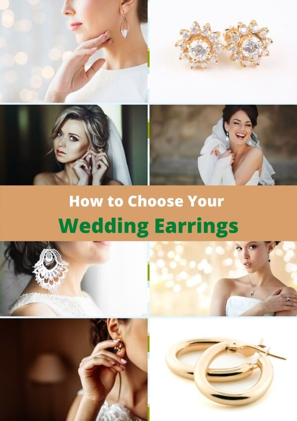 How to choose earrings for your wedding