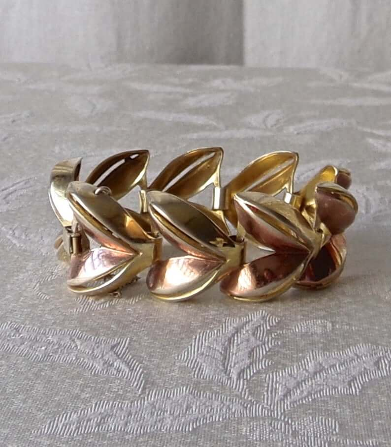 Monet vermeil bracelet