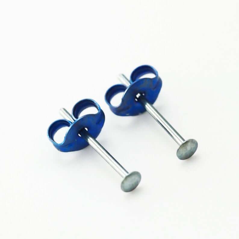 Niobium earrings