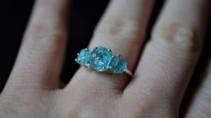 non-diamond engagement ring guide