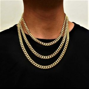 Statement gold chain
