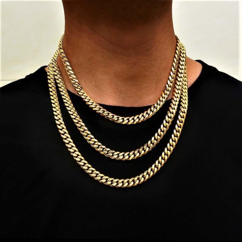 Statement gold chain