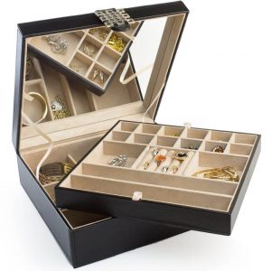 Glenor Co Classic 28 Section jewelry box