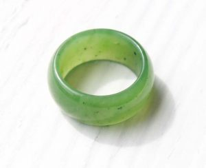 Nephrite jade band