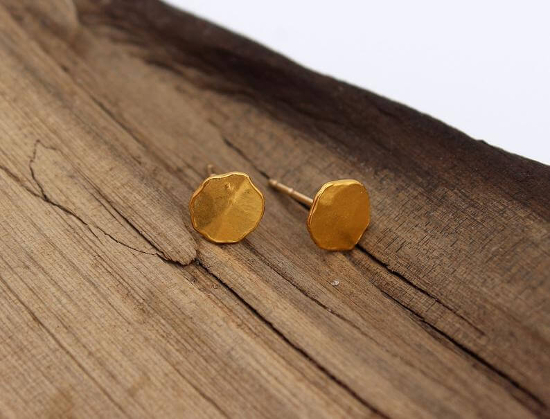 24k gold earrings
