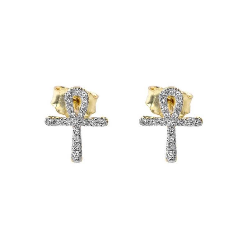 Ankh earring studs