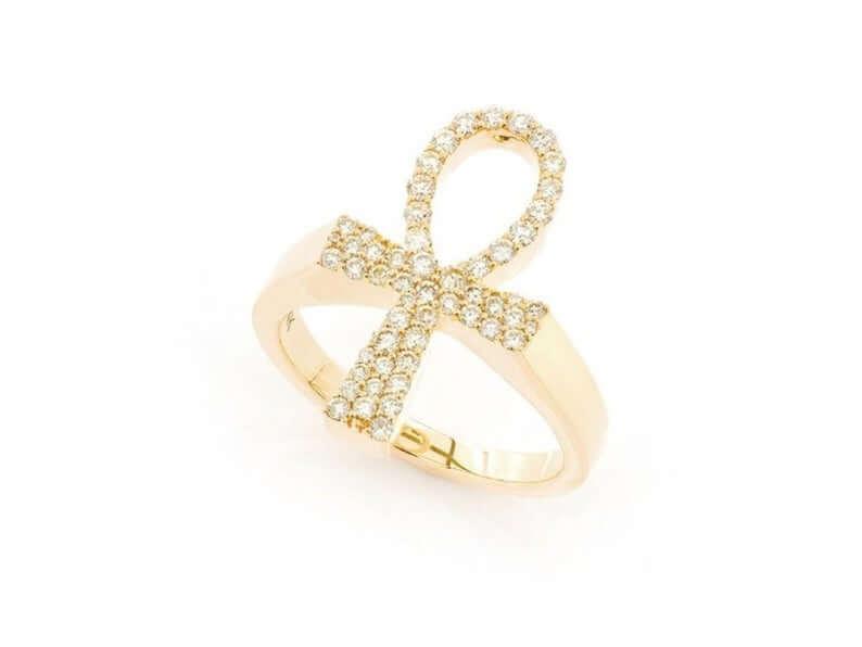 Ankh signet ring