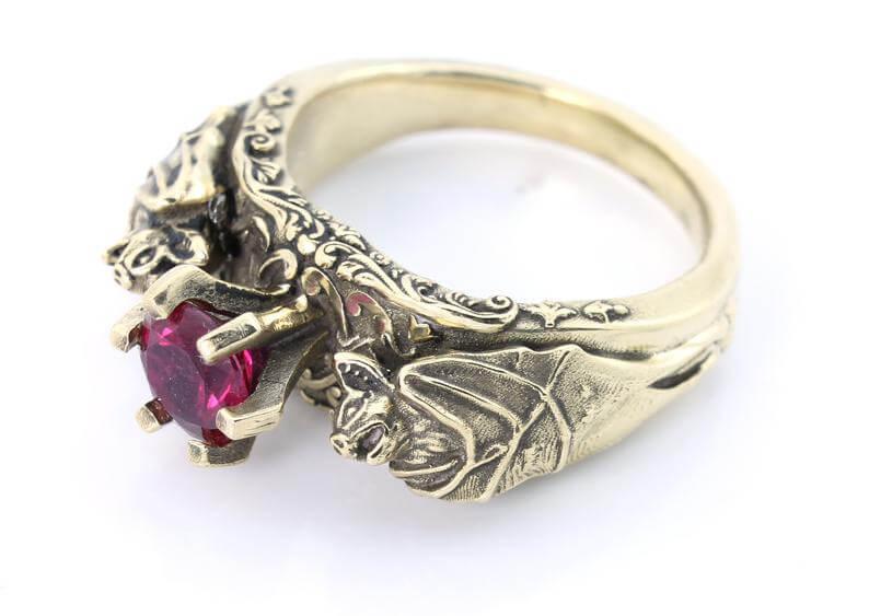 Bat style ring
