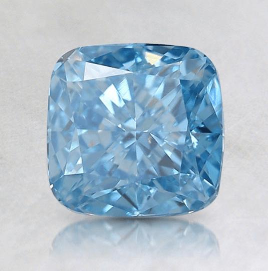Blue lab grown diamond