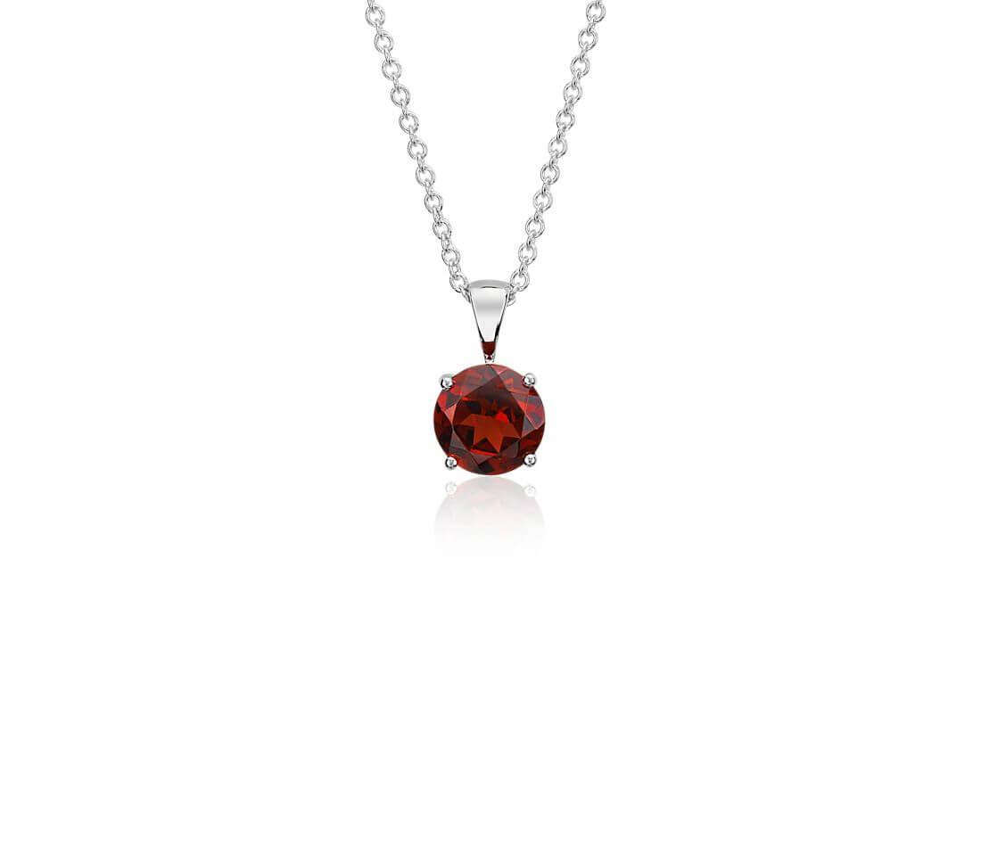 Garnet pendant