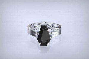 Gothic bridal set