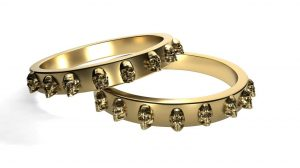 How to choose skull engagement ring