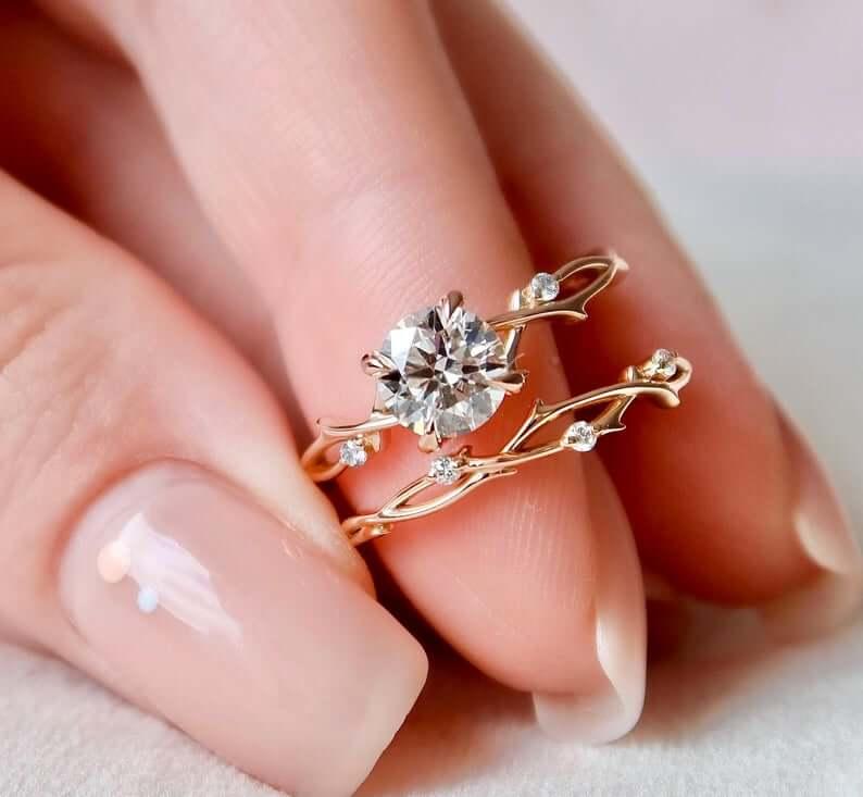 Matching ring set