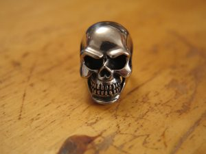 Meaning of skull engagement ring