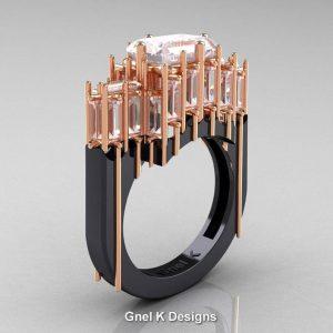 Modern avant garde ring
