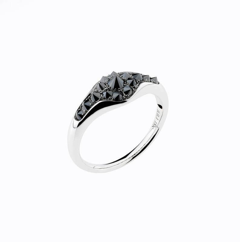 Modern gothic ring