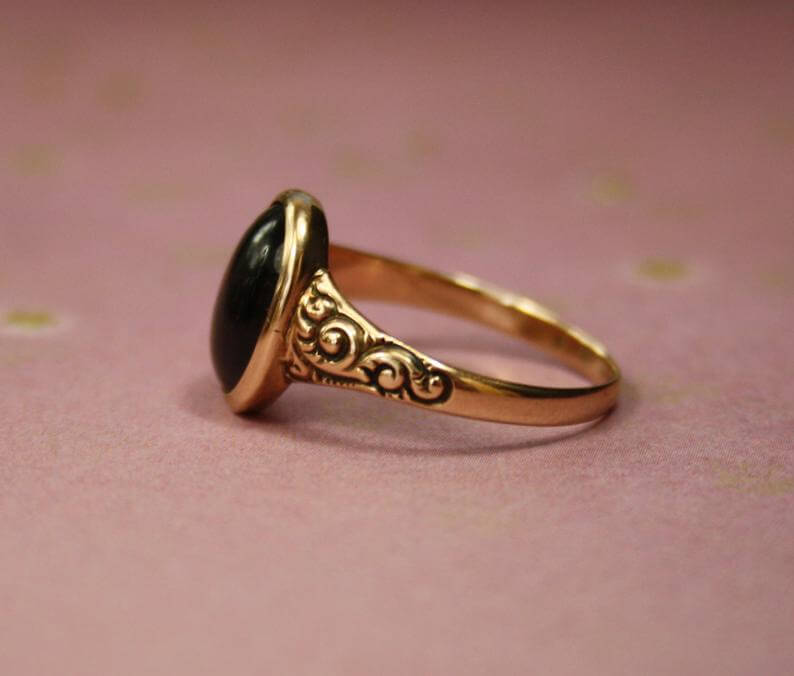 Repousse ring