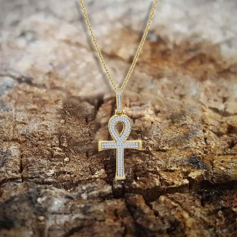Stylish ankh necklace