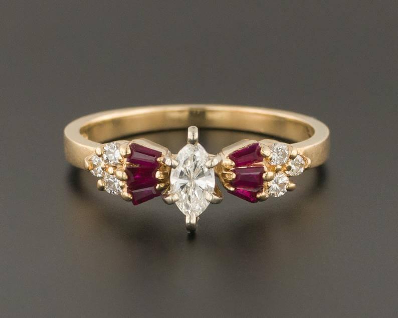 vintage-ruby-diamond-ring-etsy